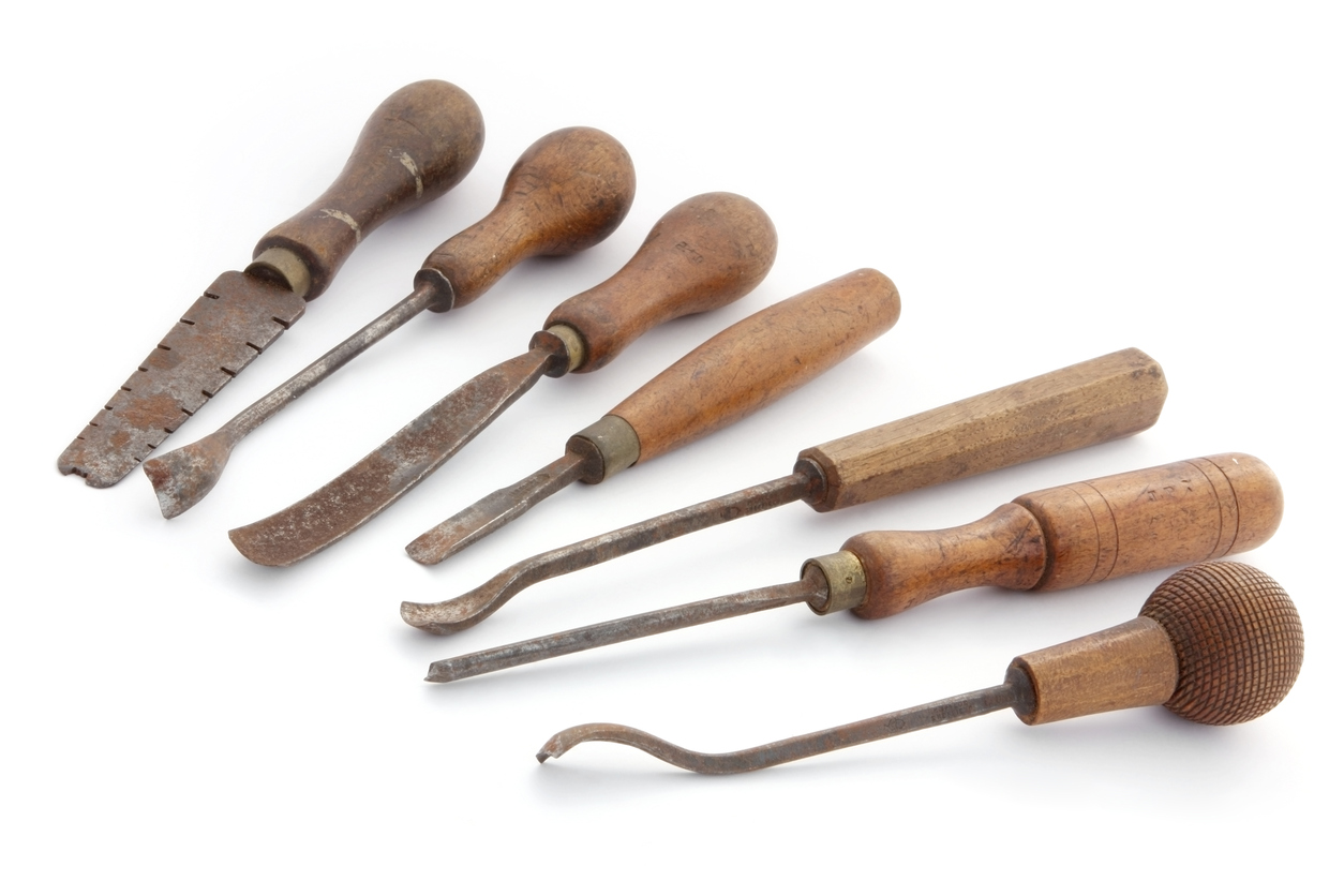 Antique restoration tools