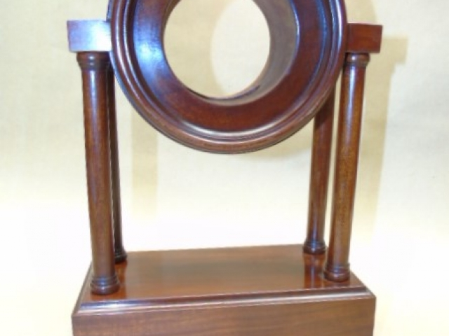 Making the case of a Bombay company style pillar clock